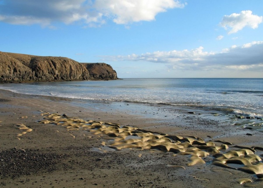 Mejores playas nudistas de Lanzarote La Colorada