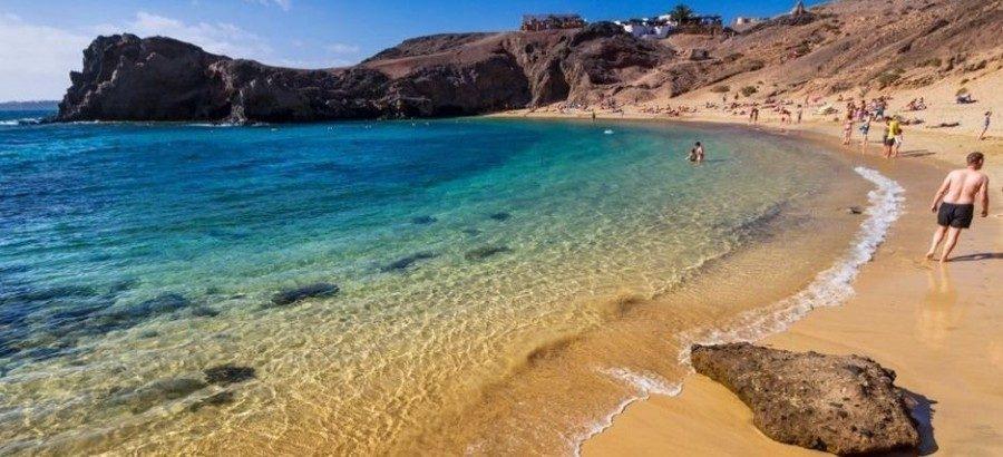 Las mejores playas nudistas de Lanzarote