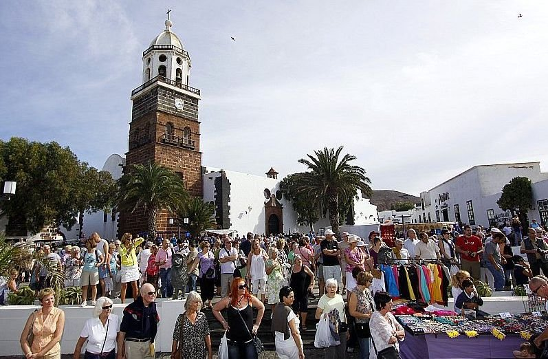 Mercadillos en Lanzarote teguise