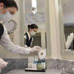 Medidas básicas antiCOVID-19 para aseos en hoteles y restaurantes